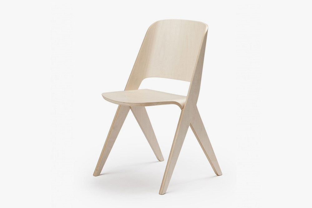 Plywood Chair - Light Brown